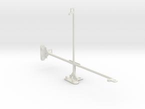 Huawei MediaPad T1 10 tripod & stabilizer mount in White Natural Versatile Plastic