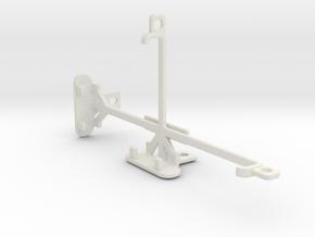 Lava X50 tripod & stabilizer mount in White Natural Versatile Plastic