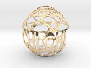 Chi Chi Lovaball in 14k Gold Plated Brass