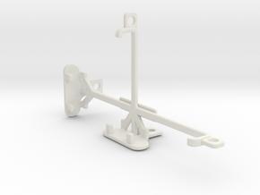 LG G4 Beat tripod & stabilizer mount in White Natural Versatile Plastic