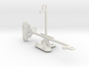 LG L70 tripod & stabilizer mount in White Natural Versatile Plastic
