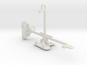 LG Nexus 4 E960 tripod & stabilizer mount in White Natural Versatile Plastic