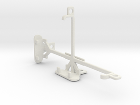 Motorola DROID Turbo tripod & stabilizer mount in White Natural Versatile Plastic