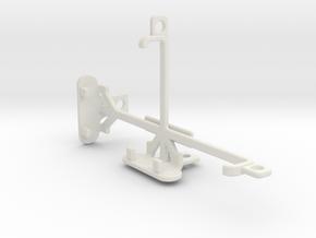 Motorola Moto X tripod & stabilizer mount in White Natural Versatile Plastic