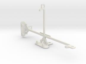 Oppo N1 tripod & stabilizer mount in White Natural Versatile Plastic