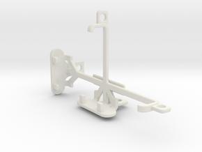 Parla Sonic 3.5S tripod & stabilizer mount in White Natural Versatile Plastic