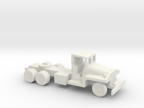 1/200 Scale CCKW Tractor in White Natural Versatile Plastic