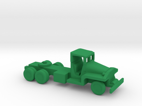 1/200 Scale CCKW Tractor in Green Strong & Flexible Polished