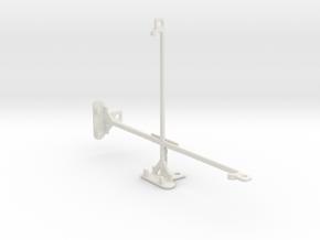 Samsung Galaxy Tab A 8.0 tripod & stabilizer mount in White Natural Versatile Plastic