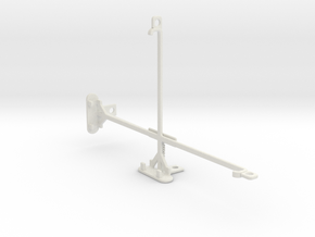 Samsung Galaxy Tab Pro 8.4 tripod mount in White Natural Versatile Plastic