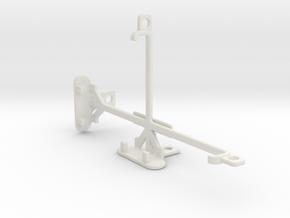 Sharp Aquos Xx tripod & stabilizer mount in White Natural Versatile Plastic