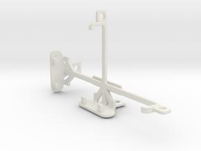 Sony Xperia E4g Dual tripod & stabilizer mount in White Natural Versatile Plastic