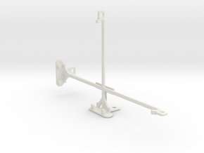 Sony Xperia Z3 Tablet Compact tripod mount in White Natural Versatile Plastic