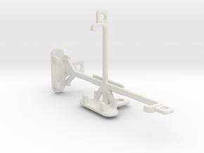 Sony Xperia Z5 Compact tripod & stabilizer mount in White Natural Versatile Plastic