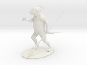 Troglodyte Miniature in White Natural Versatile Plastic: 1:60.96