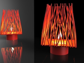 FORESTLAMP in White Strong & Flexible