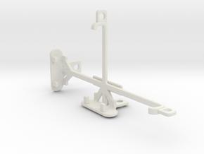 ZTE Nubia Z9 mini tripod & stabilizer mount in White Natural Versatile Plastic