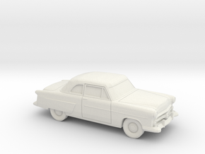 1/87 1952 Ford Crestline Coupe in White Natural Versatile Plastic