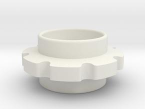 LT Sprocket 8T in White Natural Versatile Plastic