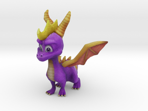 Spyro the Dragon - A hero's tail - 3.78inch in Full Color Sandstone