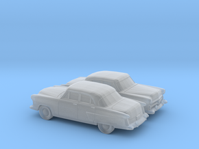 1/160 2X 1952 Ford Crestline Sedan in Frosted Ultra Detail