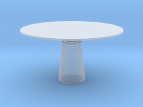 Miniature Mesa Table - Massimo Vignelli and Lella  in Smooth Fine Detail Plastic: 1:48