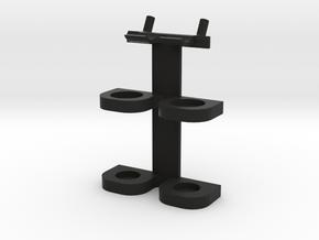 Pegboard Hammer Holder in Black Natural Versatile Plastic