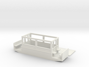 Volks Railway Car 2 of 1885  009 in White Natural Versatile Plastic