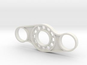 Spinner 2a in White Natural Versatile Plastic