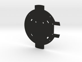 PCB Of The SmartDock  for AppleWatch in Black Natural Versatile Plastic