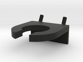 Dremel Flex Shaft Holder for Pegboard in Black Natural Versatile Plastic