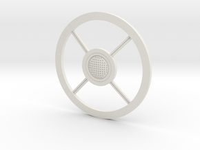 Toaster Grille in White Natural Versatile Plastic