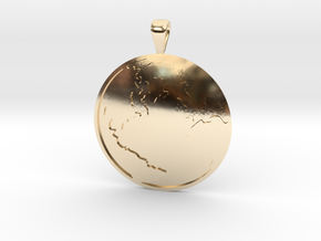 Terra (The Earth) in 14K Yellow Gold