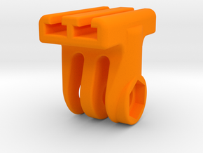 GoPro T-Rail Adapter in Orange Strong & Flexible Polished