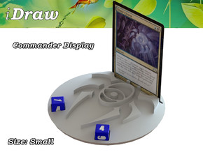 Commander Display Dimir in White Natural Versatile Plastic: Small