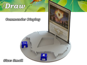 Commander Display Abzan in White Natural Versatile Plastic: Small