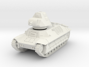 PV146A FCM 36 Light Tank (28mm) in White Natural Versatile Plastic