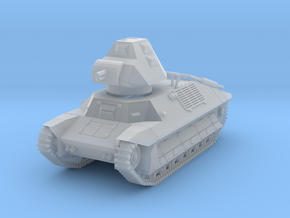 PV146B FCM 36 Light Tank (1/100) in Smooth Fine Detail Plastic