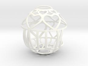 Milk Lovaball in White Processed Versatile Plastic