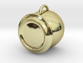 Tea Cup in 18k Gold