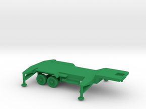1/200 Scale Patriot Missile Trailer in Green Strong & Flexible Polished