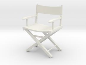 DirectorsChair3inch in White Strong & Flexible