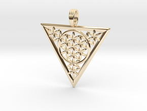 FLOWER OF RA in 14K Yellow Gold