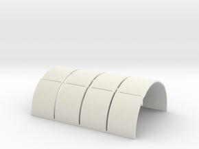 N-76-nissen-panels-16-x4 in White Strong & Flexible