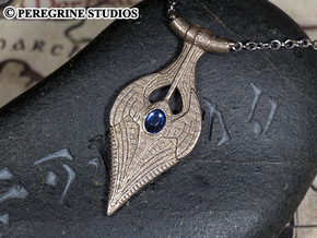 Pendant - Amulet of Kynareth in Polished Bronzed Silver Steel
