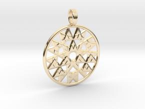 VORTEXIUM in 14k Gold Plated Brass