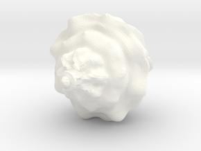 Ice Cream in White Processed Versatile Plastic