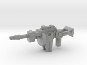 Kickback's Gun, 5mm in Metallic Plastic