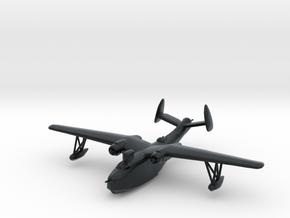 Martin PBM-5 (large radome, dorsal turret) in Black Hi-Def Acrylate: 1:200