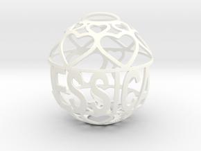 Jessica Lovaball in White Processed Versatile Plastic
